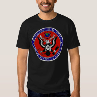 The USA Industrial Military Complex T Shirt