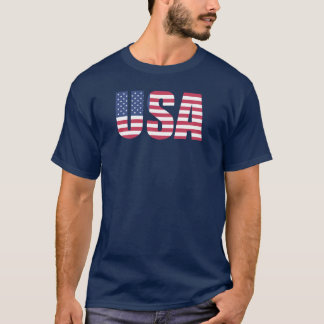 The USA July 4th T-Shirt
