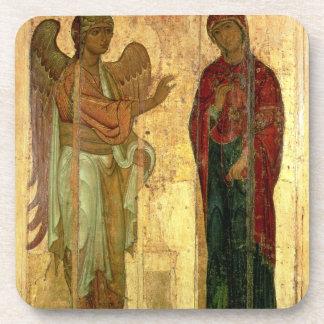 The Ustiug Annunciation, c.1130-40 (tempera on pan Coasters