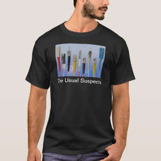 The Usual Suspects (Optical Fiber) T-Shirt