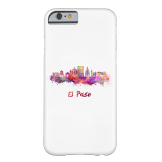 The V2 Step skyline in watercolor Barely There iPhone 6 Case