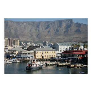 THE V & A WATERFRONT-CAPETOWN-SOUTH AFRICA POSTER