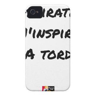The VACUUM CLEANER INSPIRES to Me Wrongly - Word iPhone 4 Case
