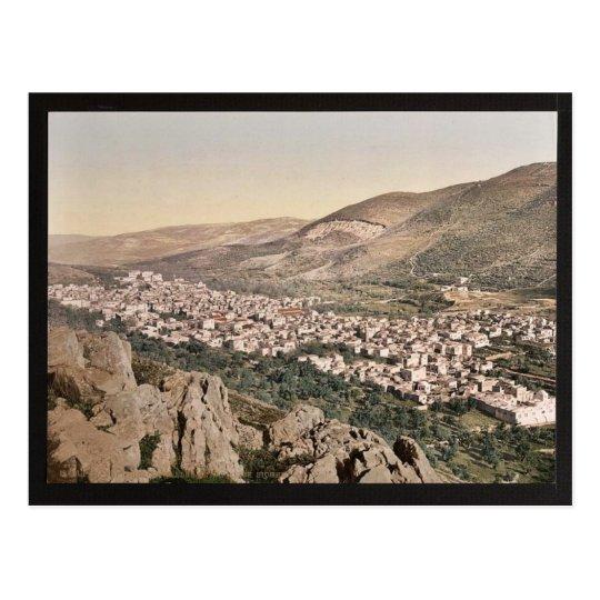 The vale of Napulus, (i.e., Nablus), Holy Land cla Postcard