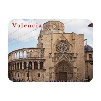 The Valencia Cathedral. Magnet