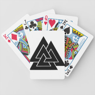The Valknut Bicycle Playing Cards