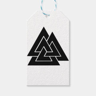The Valknut Gift Tags