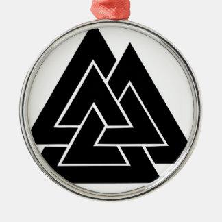 The Valknut Metal Ornament