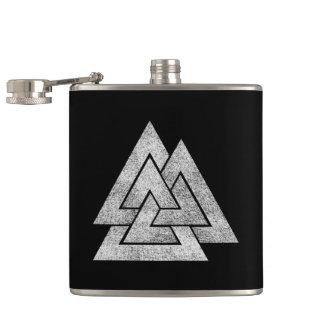 The Valknut Norse Viking Design Hip Flask