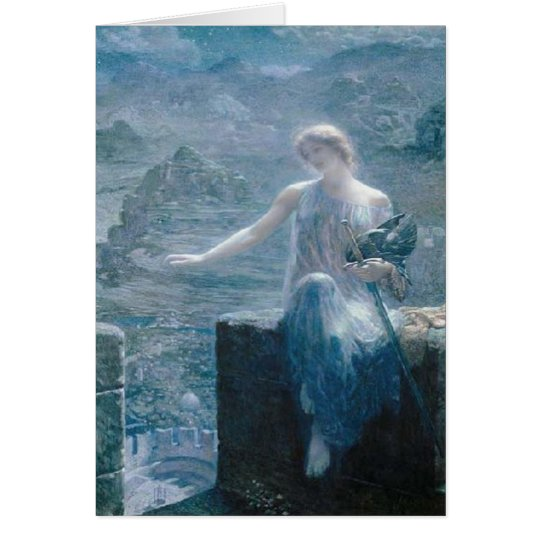 The Valkyrie's Vigil, Edward Robert Hughes, 1906
