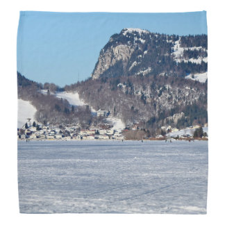 The valley of Joux in the Canton of Vaud Bandana