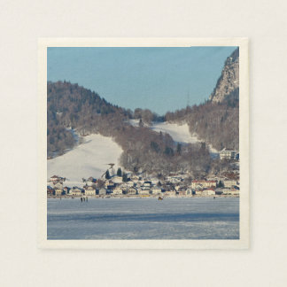The valley of Joux in the Canton of Vaud Disposable Napkin