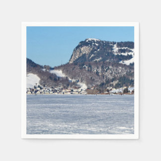The valley of Joux in the Canton of Vaud Disposable Napkins