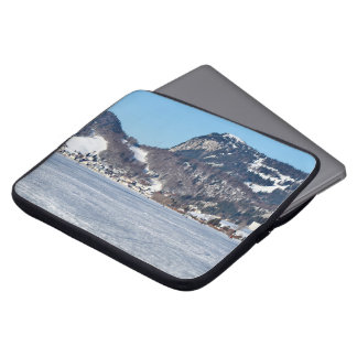 The valley of Joux in the Canton of Vaud Laptop Sleeve