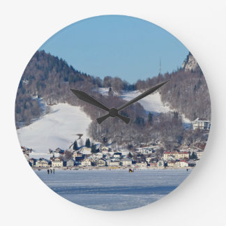 The valley of Joux in the Canton of Vaud Large Clock