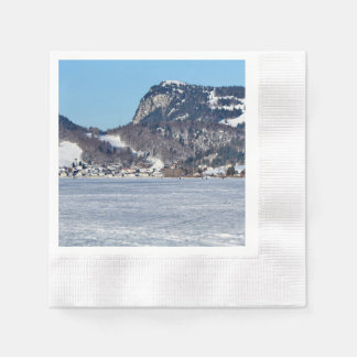 The valley of Joux in the Canton of Vaud Paper Napkins