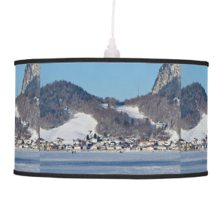 The valley of Joux in the Canton of Vaud Pendant Lamp