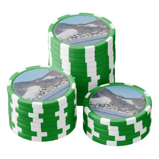 The valley of Joux in the Canton of Vaud Set Of Poker Chips