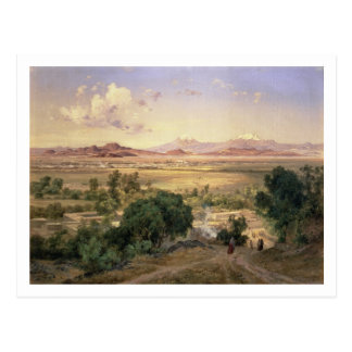 The Valley of Mexico from the Low Ridge of Tacubay Postcard