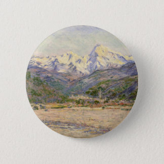 The Valley of the Nervia 2 Inch Round Button