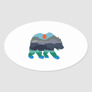 THE VALLEY PASSAGE OVAL STICKER
