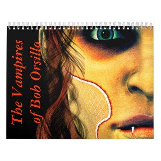 The Vampires of Bob Orsillo Wall Calendars