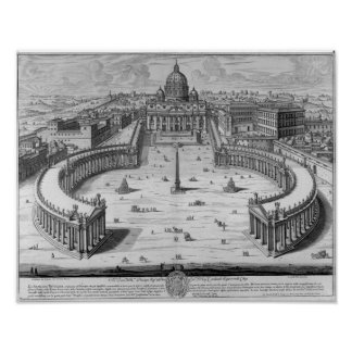 The Vatican, Rome Poster