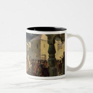 The Veche in the Republic of Novgorod, 1861 Two-Tone Coffee Mug