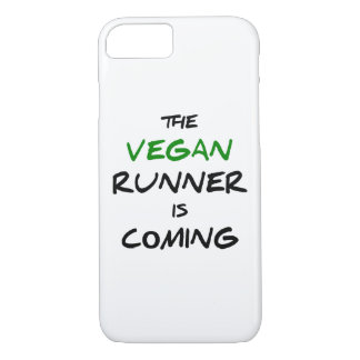 The vegan runner is coming iPhone 7 case