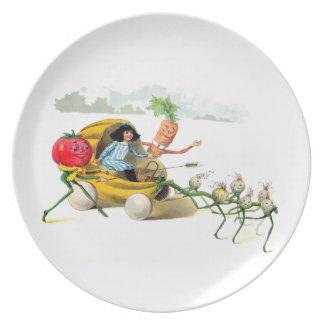The Vege-Men's Revenge Plate