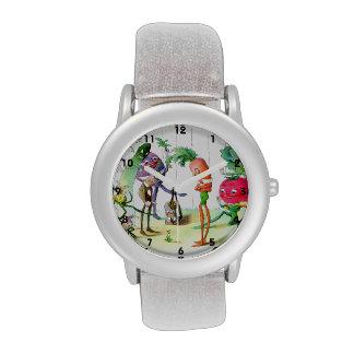 The Vege-Men's Revenge Wristwatches