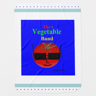 The Vegetable Band Baby Blanket