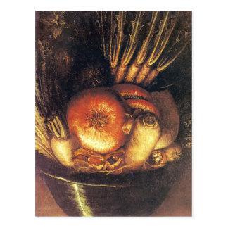The Vegetable Bowl by Giuseppe Arcimboldo Postcard