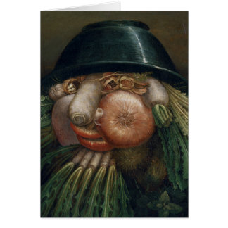 The Vegetable Gardener - Giuseppe Arcimboldo Card