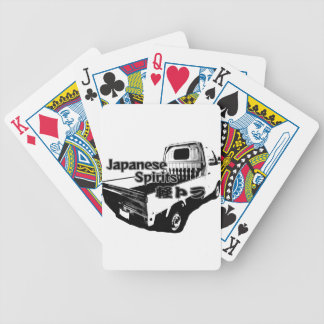 The vehicle which carries Japanese barrel mind, it Poker Deck