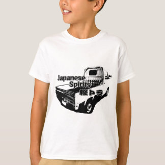 The vehicle which carries Japanese barrel mind, it T-Shirt