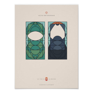 The Veil and the Beard - Orthodoxe Jews Poster
