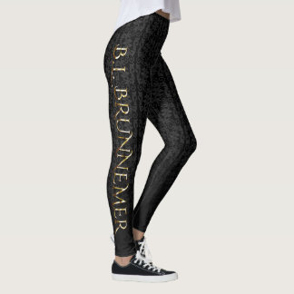 The Veil Diaries B.L. Brunnemer Leggings