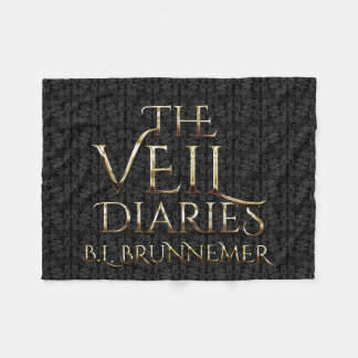The Veil Diaries Graphic Landscape Fleece Blanket