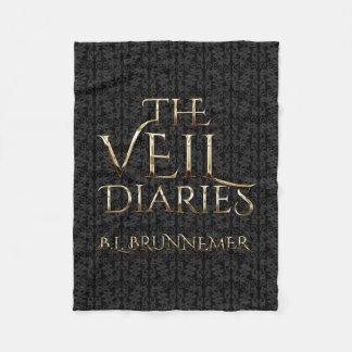 The Veil Diaries Graphic Portrait Fleece Blanket