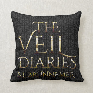 The Veil Diaries Graphic Throw Pillow