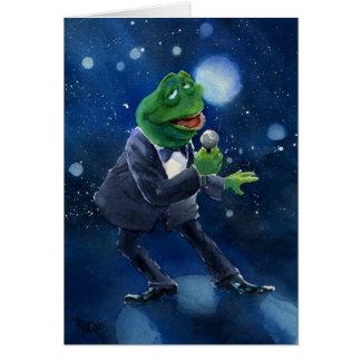 The Velvet Frog Card