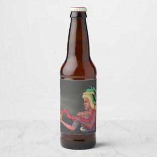 The Venom Cure (blank) Beer Bottle Label