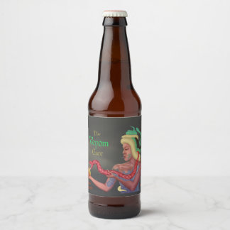 The Venom Cure (name & style) Beer Bottle Label