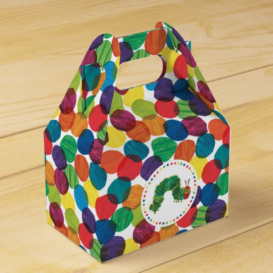 The Very Hungry Caterpillar Birthday Party Favor Box