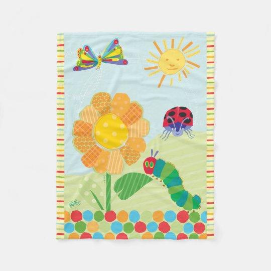 The Very Hungry Caterpillar, Good Morning Sunshine Fleece Blanket
