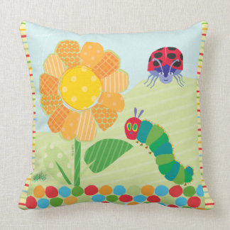 The Very Hungry Caterpillar, Good Morning Sunshine Throw Pillow