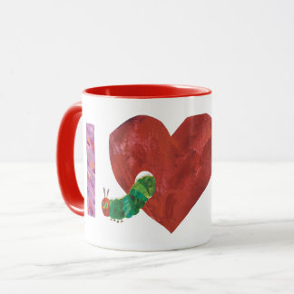 The Very Hungry Caterpillar   I Heart You Mug