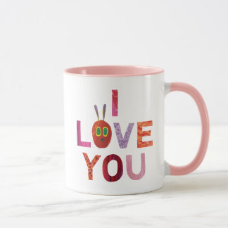 The Very Hungry Caterpillar | I Love You Mug