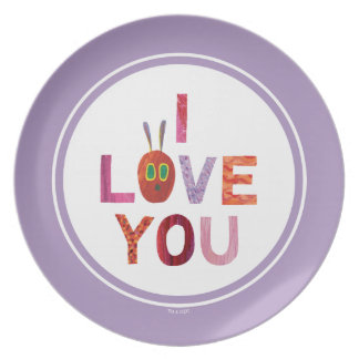 The Very Hungry Caterpillar | I Love You Plate
